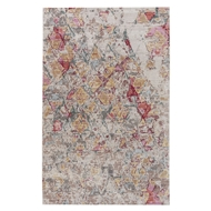 Jaipur Ixion Rug From Ceres Collection CER05 - Pink/Brown